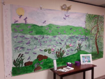 Aine mural at HHHC 9-3-14